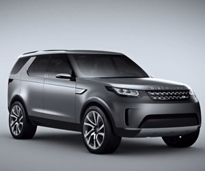 Inside the Land Rover Discovery Vision Concept