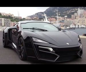 $3.4m Lykan Hypersport Revs its Engine