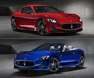 Maserati GranTurismo Centennial Editions