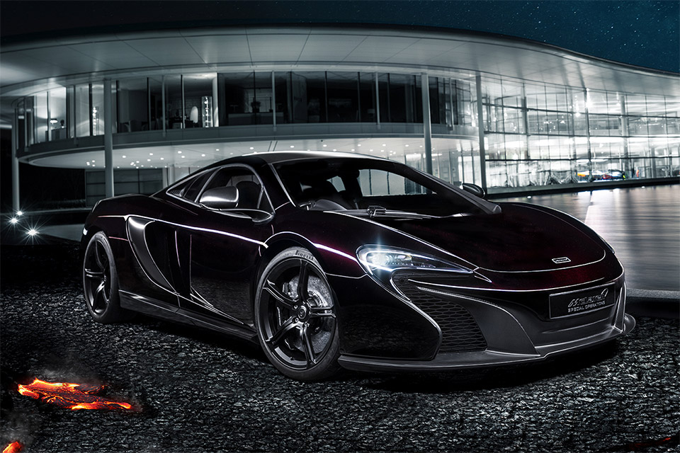 McLaren Shows off Stealthy 650S Coupe Concept