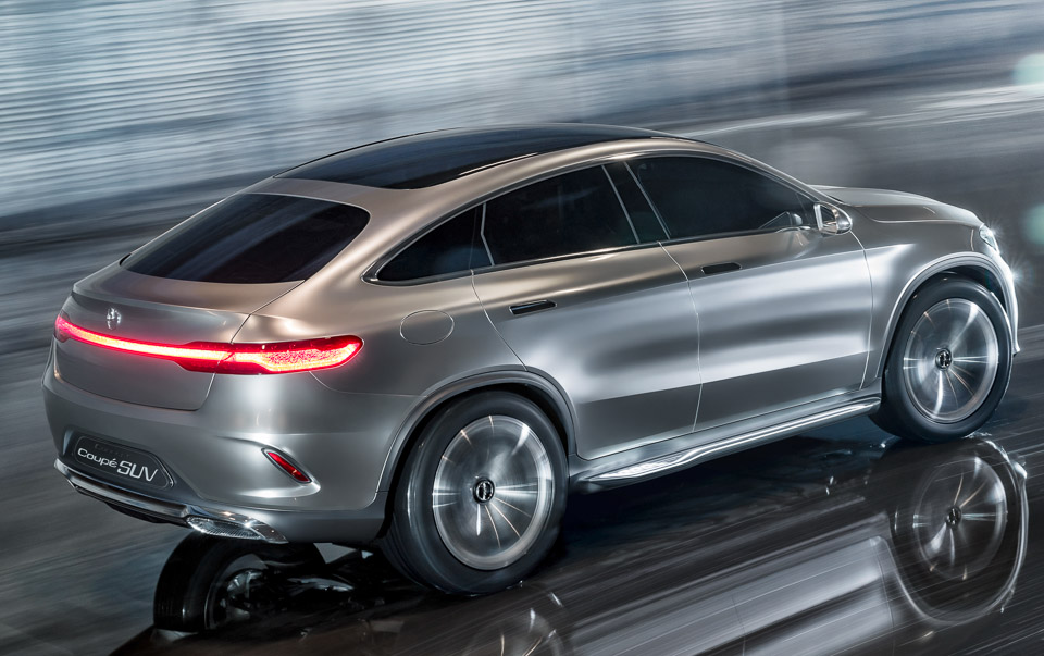 Mercedes benz concept coup suv 95 octane for Mercedes benz suv 2014