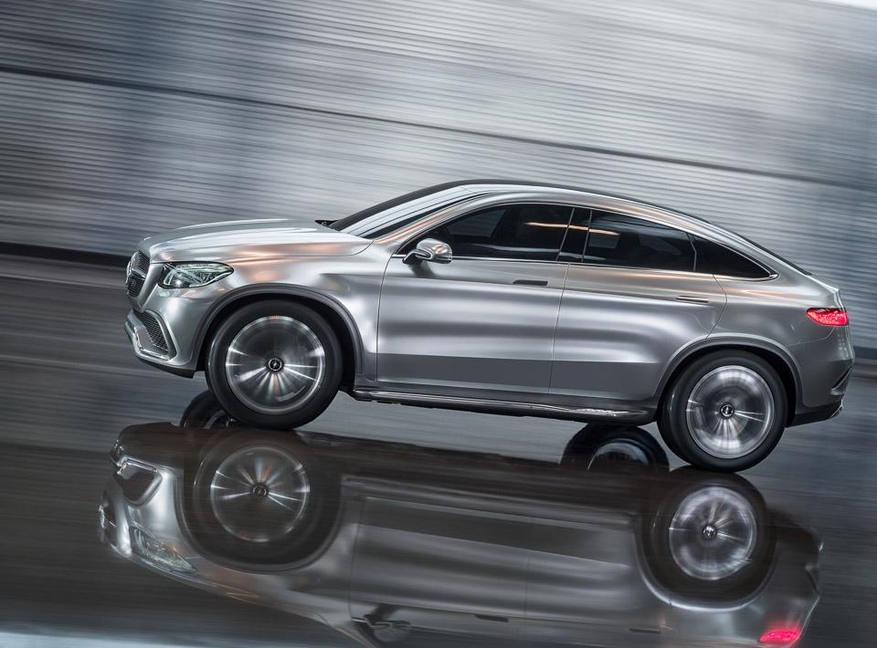 Mercedes benz concept coup suv 95 octane for Mercedes benz concept suv