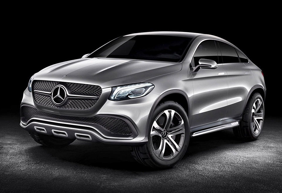 Mercedez Benz Previews Mlc Concept Before Beijing 95 Octane
