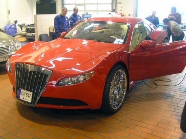 mercedes_sportscar_expanding_foam_lithuania_13