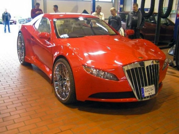 mercedes_sportscar_expanding_foam_lithuania_15
