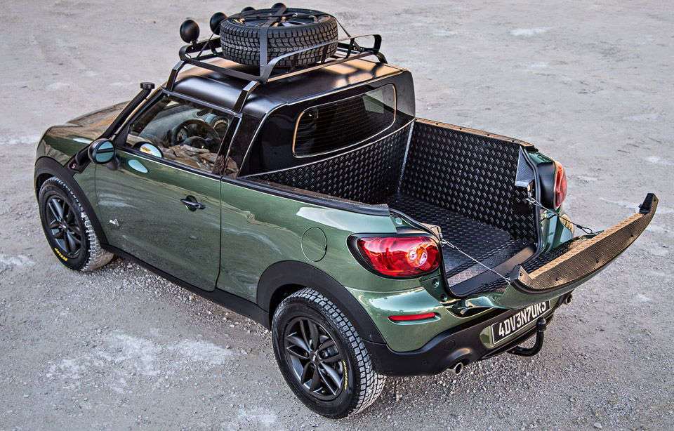 Mini Paceman Adventure Pickup Truck 95 Octane