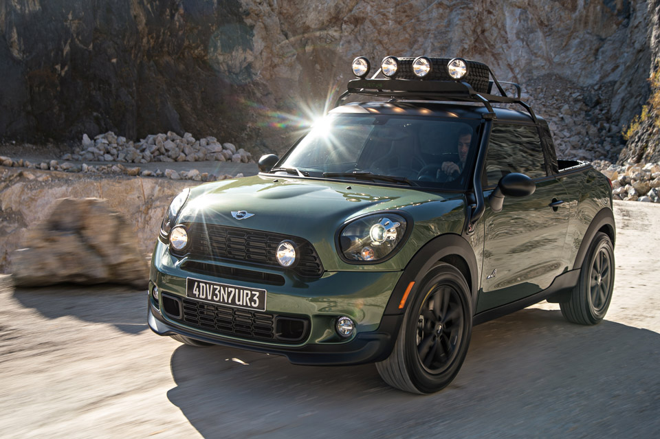 MINI Paceman Adventure Pickup Truck