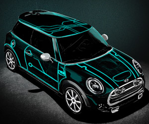 Limited-Edition TRON Mini Cooper to Be Produced