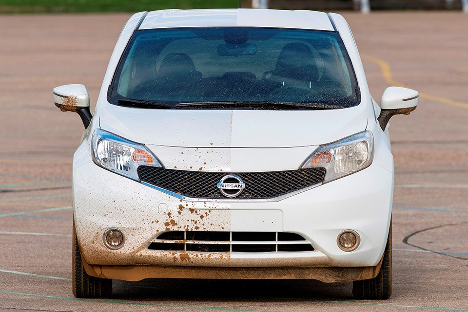 Nissan's Self-Cleaning Car Prototype Lets You Skip the Carwash
