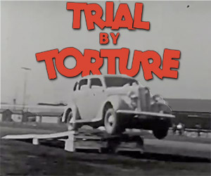Daredevil Stunts in a 1936 Plymouth: Trial by Torture