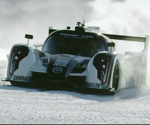Snow Drifting in a 600HP RWD Race Car