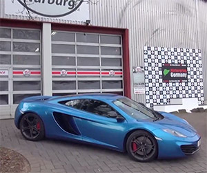 Shmee Takes His McLaren 12C to Nürburgring