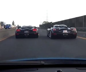 Two Koenigseggs, One McLaren
