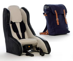 Volvo's Inflatable Child Seat Concept: Deflate and Stow