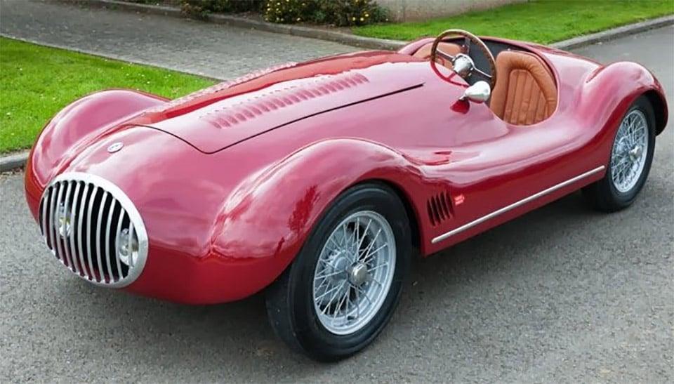 1954 OSCA Maserati Barchetta Hits eBay