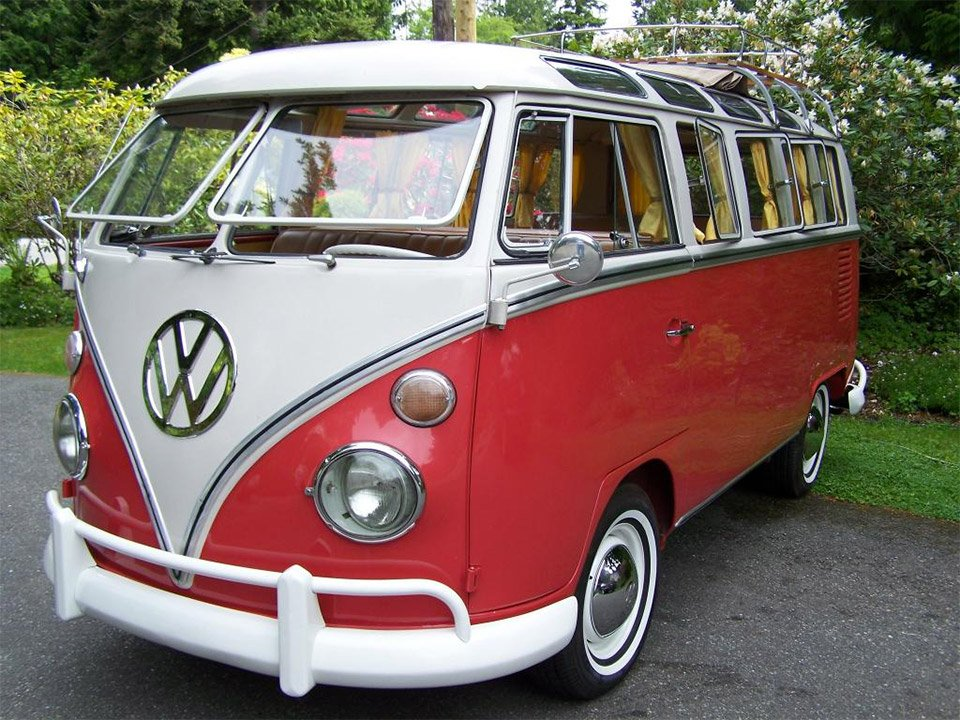 1964 21 Window Vw Bus On Auction 95 Octane