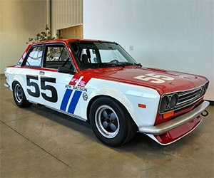 1971 Datsun 510 Racer on Auction: Retro Done Right