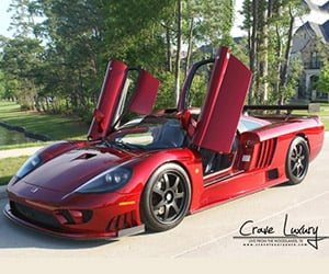 Rare 1,000hp 2005 Saleen S7 for Sale