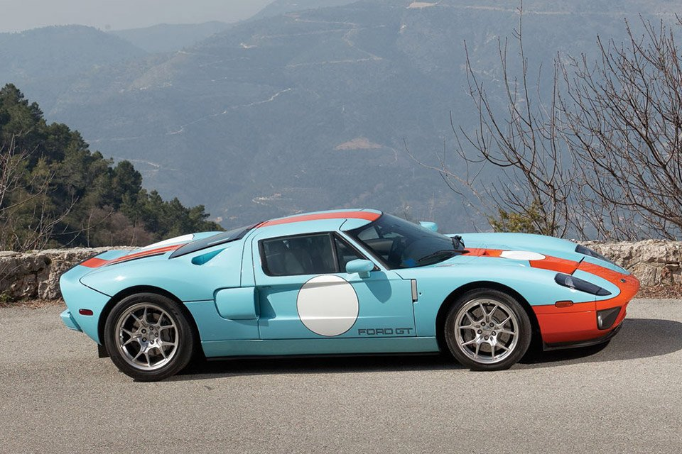 2006 Ford Gt Heritage Edition On Auction