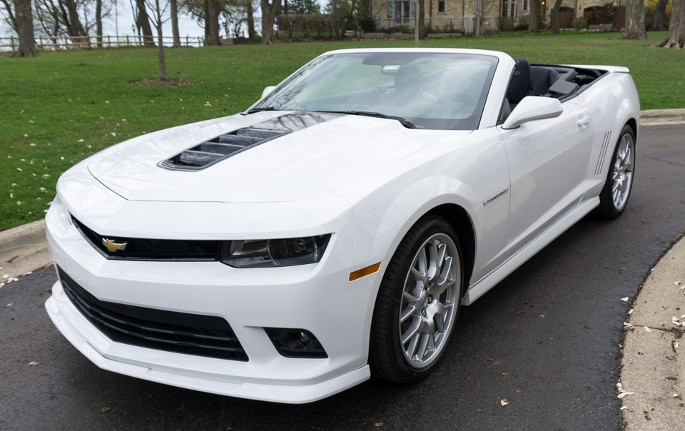 Review: 2014 Chevy Camaro 2SS Convertible ...
