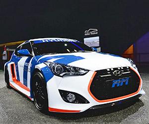 """2014 Hyundai Veloster RM """"Midship"""" Concept"""