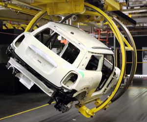 2014 MINI Assembly Line: From Sheet Metal to Car