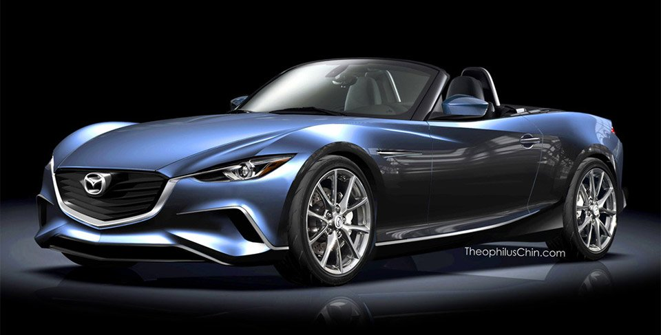 2015/2016 MX-5 Miata Concept Rendered by Fan - 95 Octane