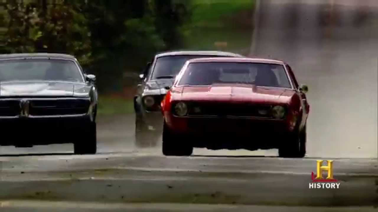 Top Gear USA Returns with American Muscle Cars - 95 Octane