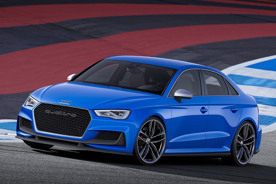 Audi A3 Clubsport Quattro Bound for Wörthersee