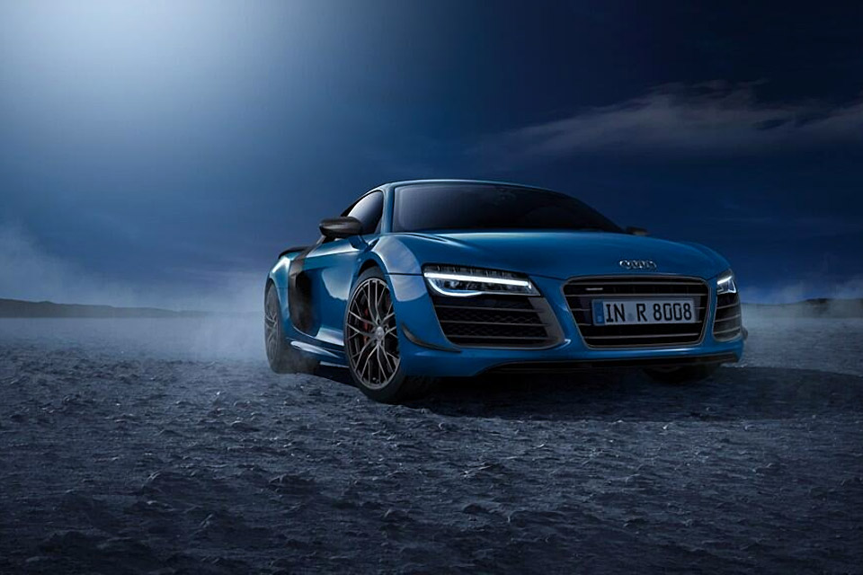 Limited Edition Audi R8 LMX with Laser Headlights