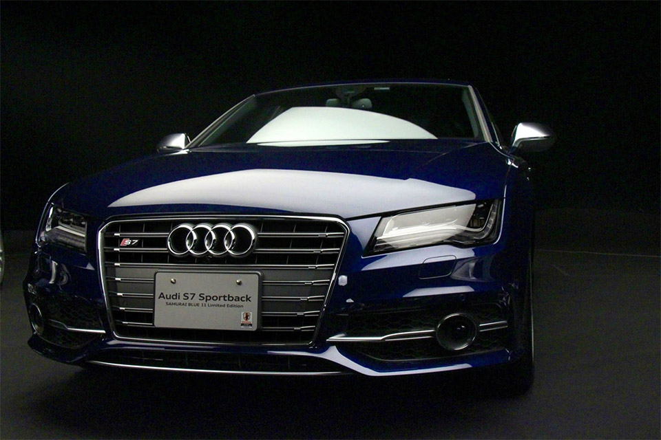 Audi Samurai Blue 11 Limited Edition