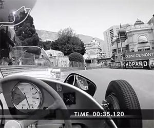Driving the Monaco Grand Prix Track in a Silver Arrow