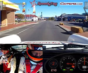 Racing a Rally 911 Through Tasmania's Suburbs