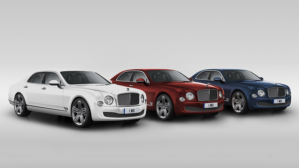 Bentley Marks 95 Years with Mulsanne 95