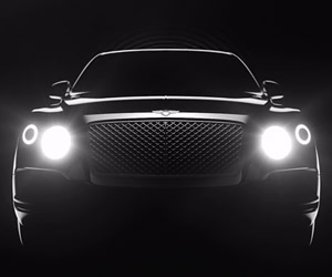 Bentley Continues to Tease Its First SUV
