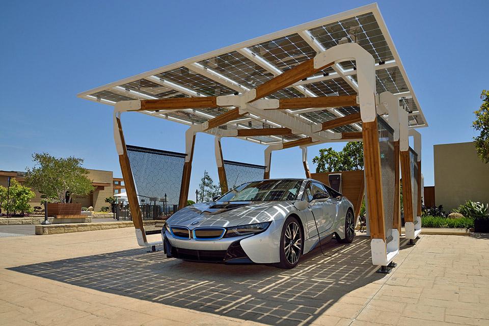 BMW DesignworksUSA's Solar Carport Concept