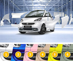 Help Choose the Brabus Smart Fortwo Design