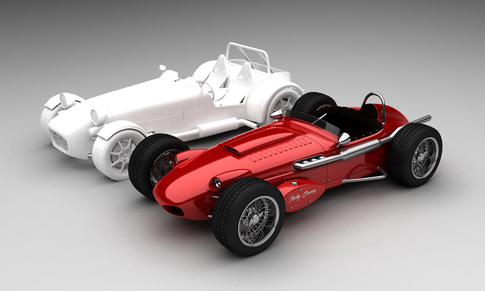 Caterham Seven Old School Designs