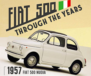 Infographic: The Fiat 500 Through the Years