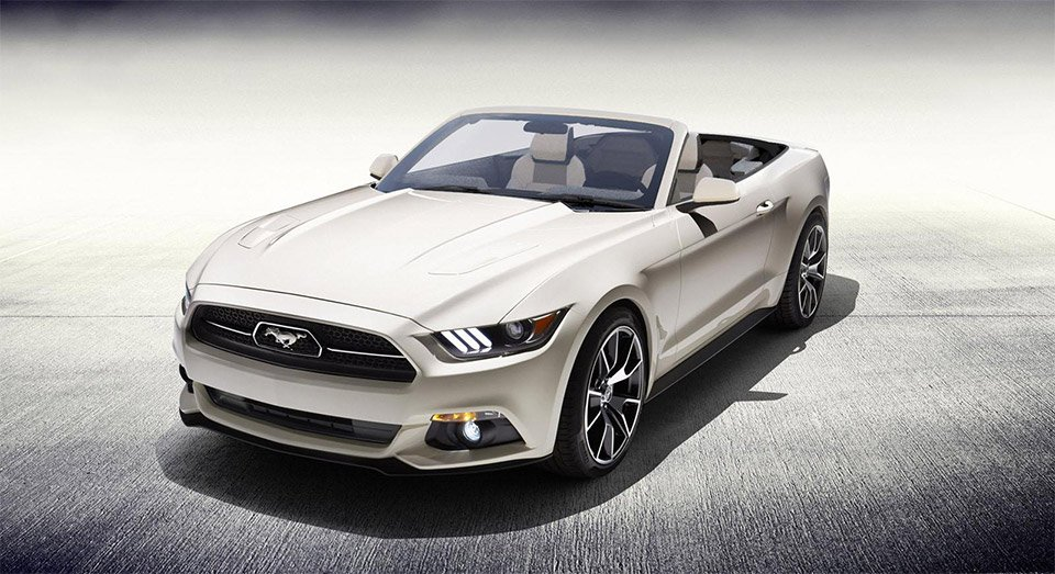 Win a One-off 2015 Ford Mustang Convertible