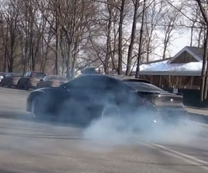 Doing Donuts in the Hamann BMW M6
