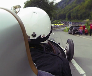 1934 Mercedes W 25 Returns to Klausen Hill Climb