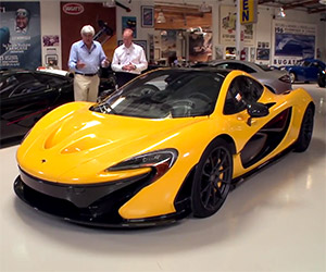 Jay Leno Shows of His New McLaren P1