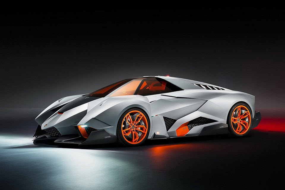 Lamborghini Egoista Moves to Lambo Museum