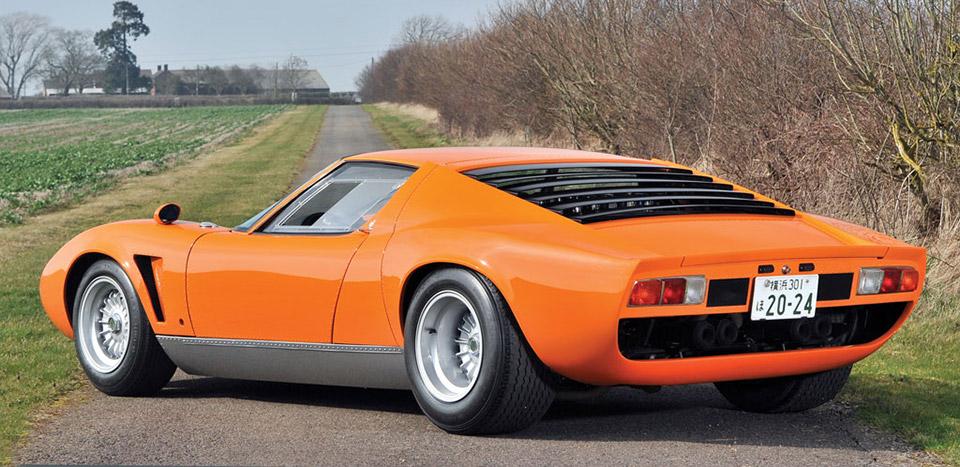 1969 Lamborghini Miura S Jota Up For Auction