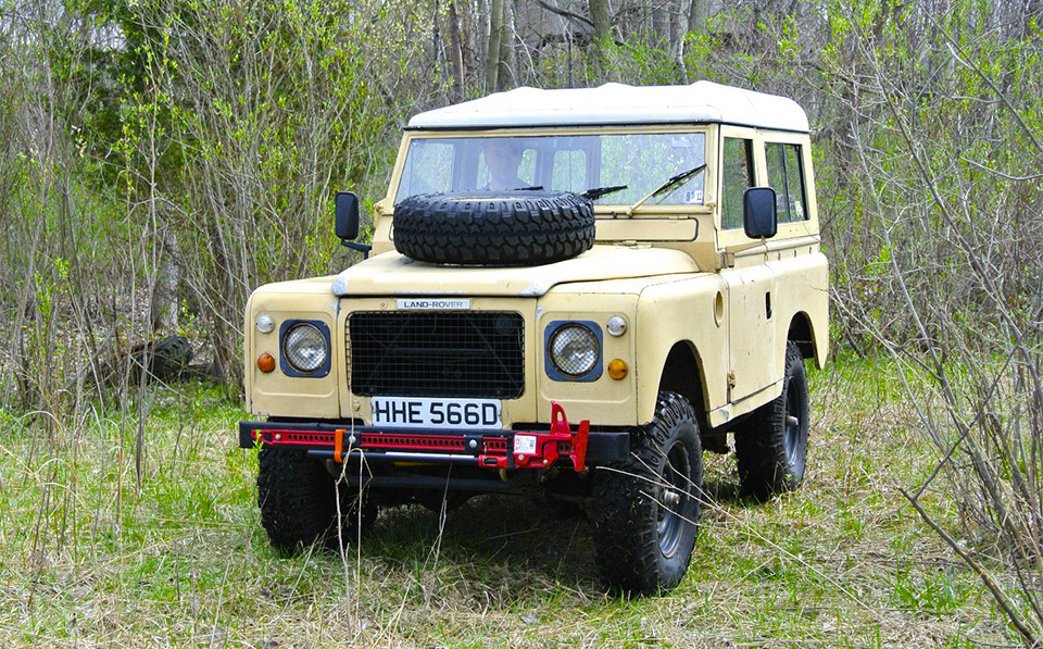 eBay Find: 1966 Land Rover Series IIA
