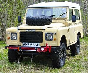 eBay Find: 1966 Land Rover Series IIA