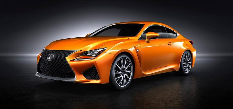 Help Lexus Name the New Color for the RC F