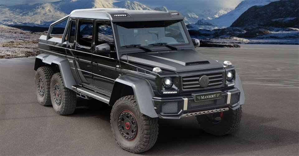 Mansory G63 AMG 6×6 Full Carbon Edition