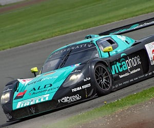 A Maserati MC12 GT1 Sounds off